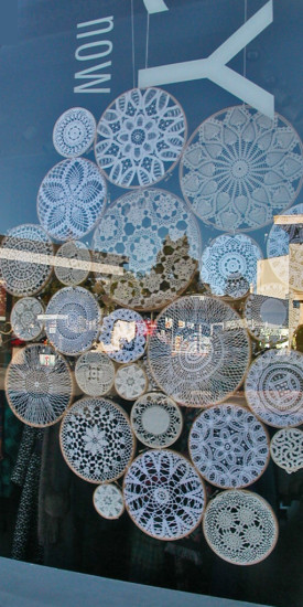 shop window crochet artsfph reflections reflectionthursday
