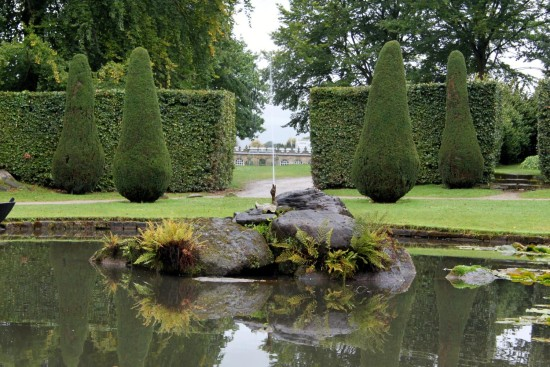 england chatsworth architecture landscape objects