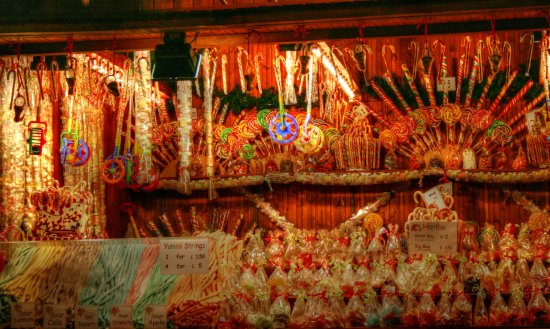 candyfriday german christmas market sweets stall