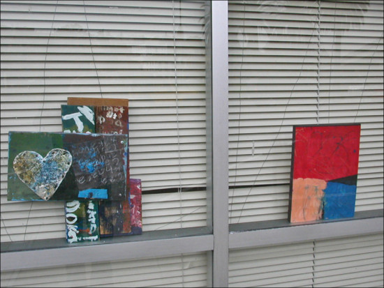 oaklandartfph streetart paintings window shades reflections windowclub