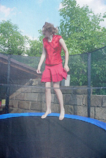 trampoline child Rosalie Bohemia