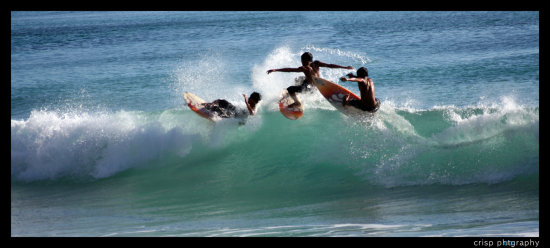 surfs up, bali 2007