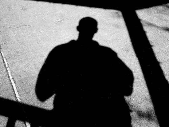 shadow of person
