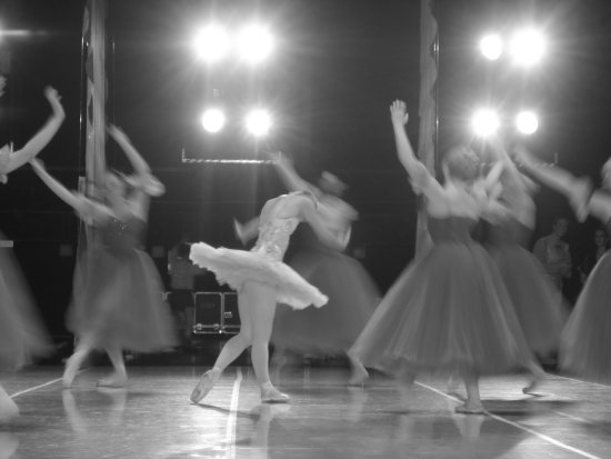 ballet stage theatre nutcracker dancers