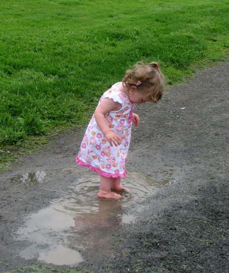 """The """"wild child"""" got off to an early start...I was delighted when I came across this photo in my ..."""