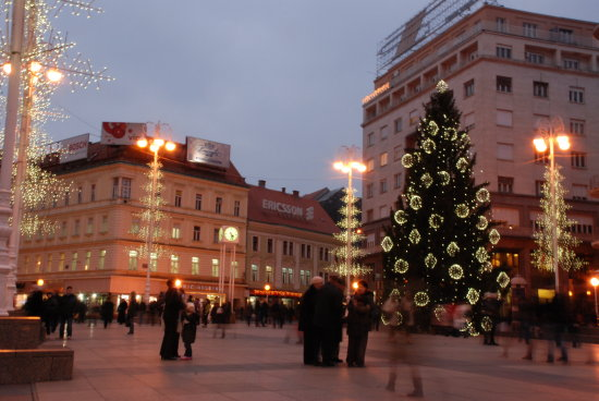 zagreb christmas lights