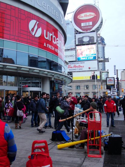 2nd Photo-At 3:51pm.Outside Eaton Centre-Yonge & Dundas St.,Toronto,Ont.,On Saturday,Jan.12,2013 ...