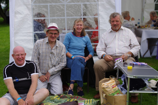 4. left to right TC, Stephen, Celia and Laurence.  The three men were school chums and Celia wa...