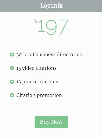 Loganix citation building local directory submissions link building local se