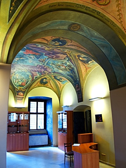 gallery mural castle Prague Bohemia