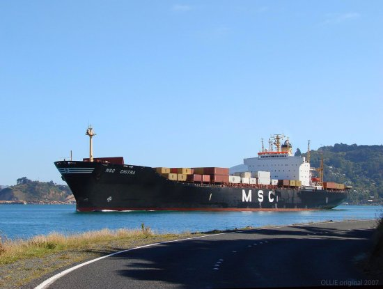 shipping channel otago harbour roads dunedin new zealand littleollie