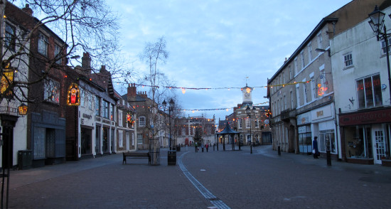 1. We went to see Stephen's daughter, Claire, in Brigg, N. Lincs - it's a really pretty little to...