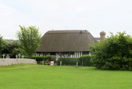 August 2012 - Summer Break   15. Right next door to the church at Alfriston, the Clergy House w...
