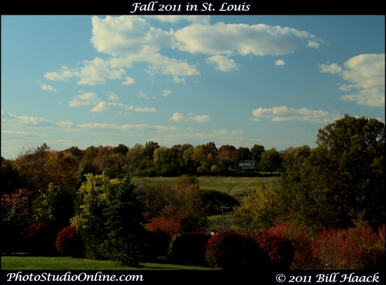 stlouis missouri usa fall season colors change YMCA hill valley overlook 1020911