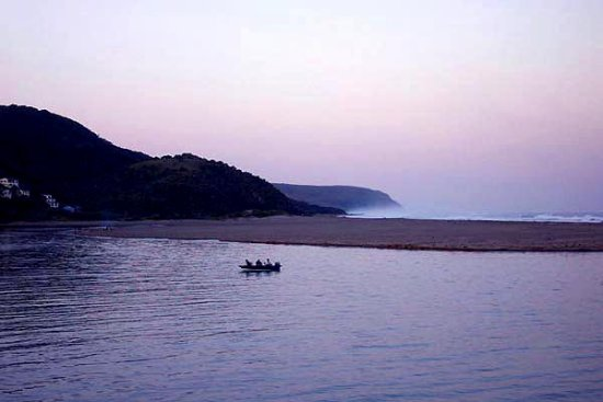 port st johns estuary transkei south africa wild coast