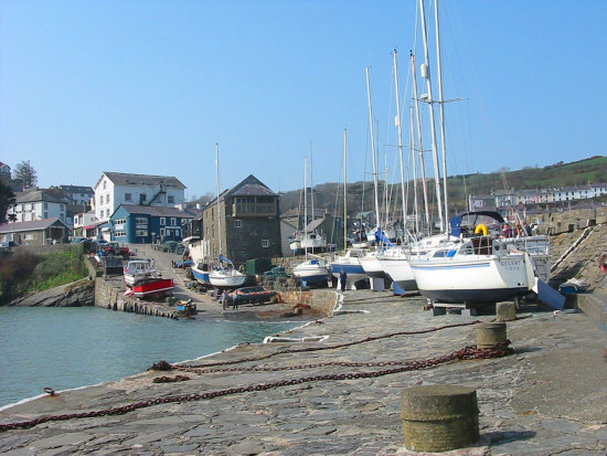 new quay wales harbour