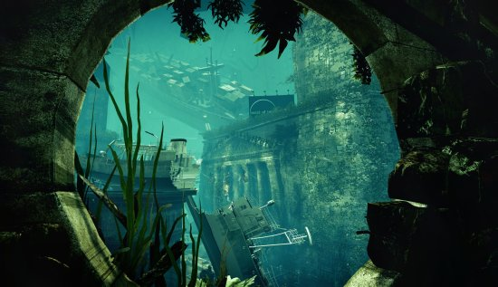 Waterworld underwater city CryENGINE