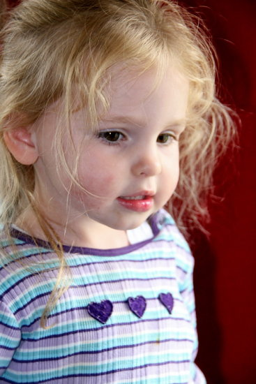 Wanted some nice 'studio' looking shots using natural light of my daughter and her cousin. Layout...