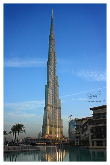 World's biggest needle 828m. 