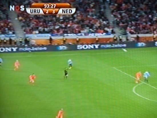Holland Uruquay worldcup 2010