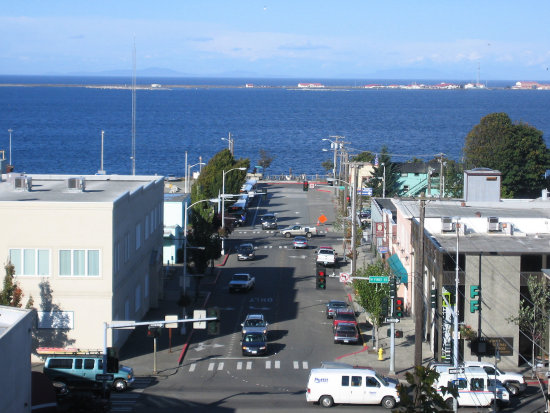 downtown, my town,