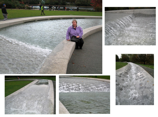 October Half Term - a couple of days in London   6. Hyde Park - the fountain built in memory of...