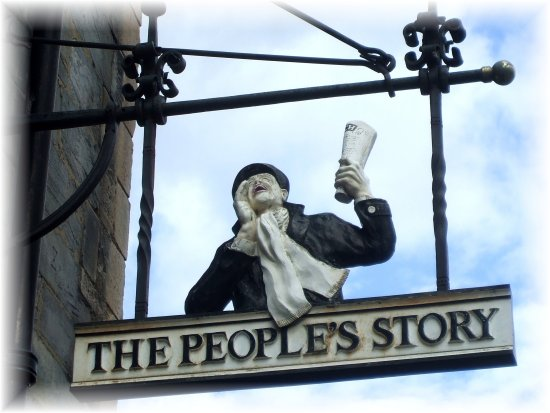 The peoples sign