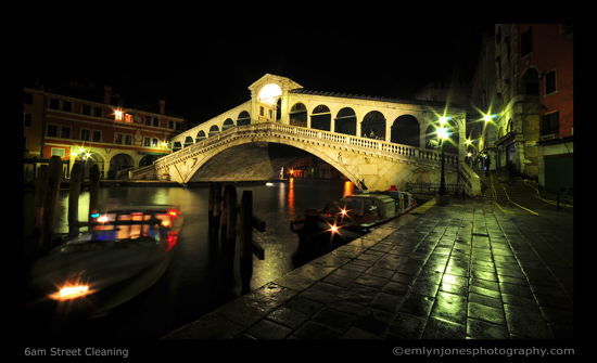 venice grandcanal night