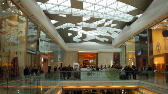 London Westfields shoppingmall