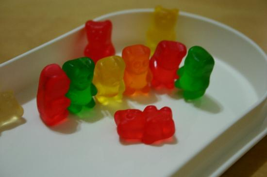 bear jellies gummy
