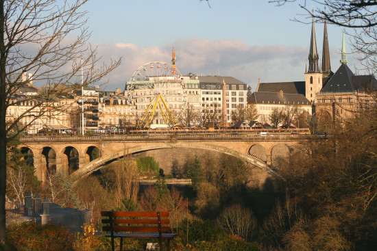 luxembourg city autumn