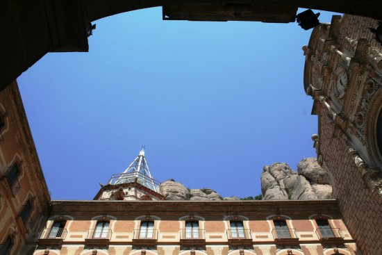 ...back to Montserrat and the monastery  ..........the amazing nature and architecture of 18th ...