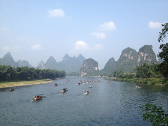 Lee river . Guilin China