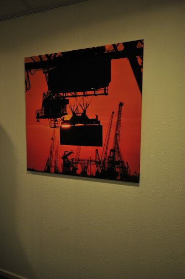 How cool. One of my pics made it onto a canvas.