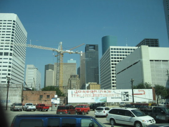 Busy Houston Tx Skyline