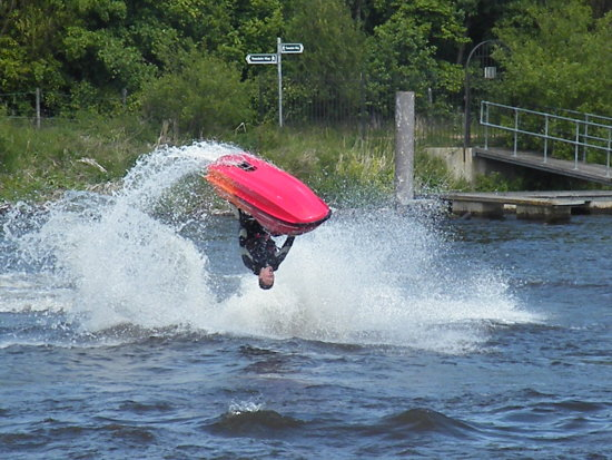 Jet Ski Watersports Roll