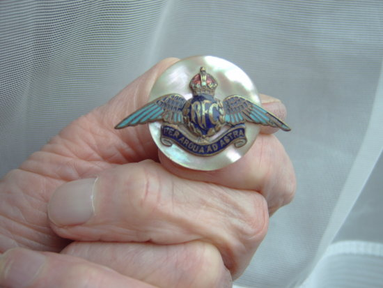 Royal flying Corp wings broach