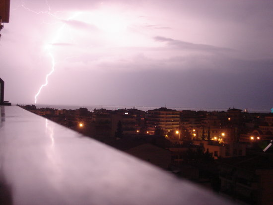 Thunder in Thessaloniki