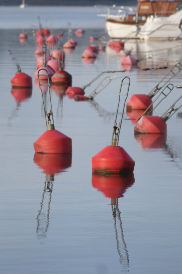 beach lake autumn sun red buoy reclectionreflectionthursday