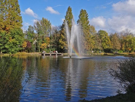 reflectionthursday park natur autumn rainbow