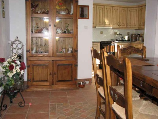 dining room kitchen home andalucia spain
