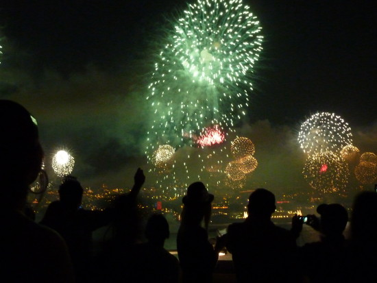 Funchal Madeira fire works