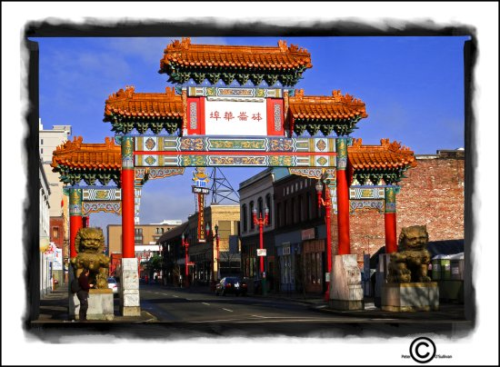 Chinatown Portland Oregon USA