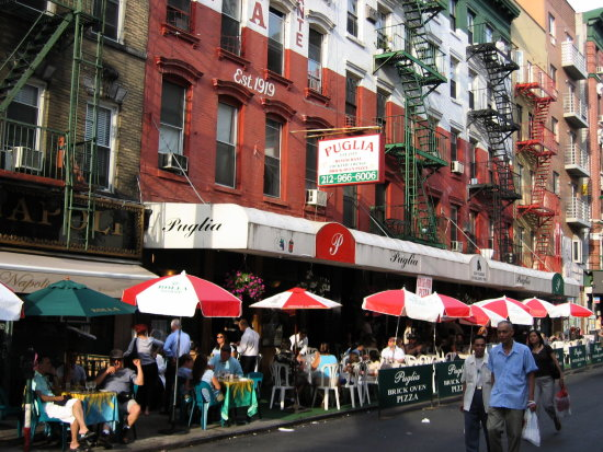 Little Italy La Poca Italiala New York