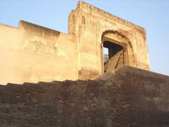 Pakistan Punjab Lahore Travel Tour Building Old Gate