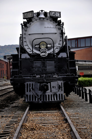 steamtown scranton pennsylvania railroad train locomotive engine yard