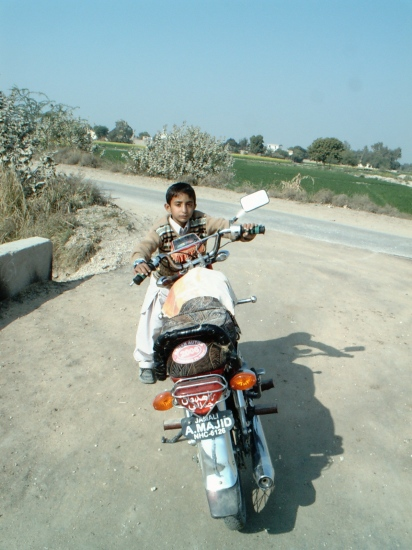 ON EID DAY WE  WERE ROAMING HERE AND THERE ON BIKE