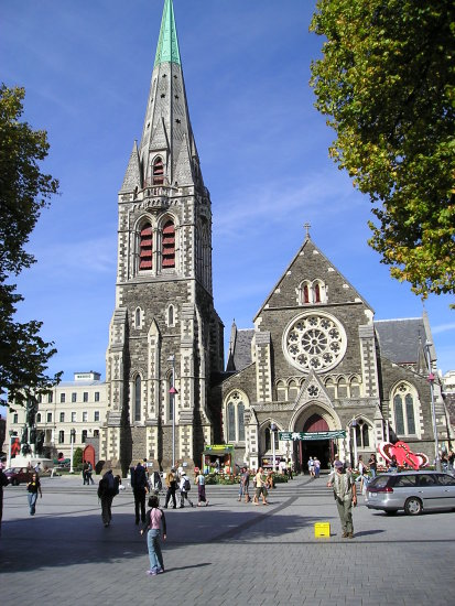 Christchurch cathedral newzealand 2006