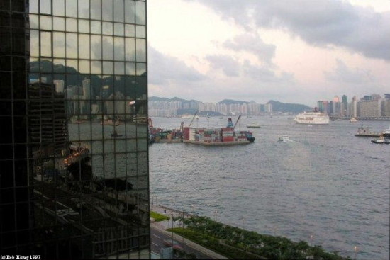 Victoria Harbour Hong Kong Circa 1997 Reflectionthursday Rob Hickey