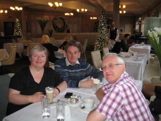 October Half Term - a couple of days in London   23. Our friend, Colin, treated us to lunch in ...